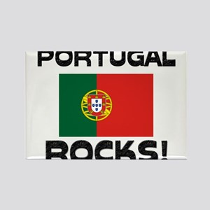 Portugal Rocks! Rectangle Magnet